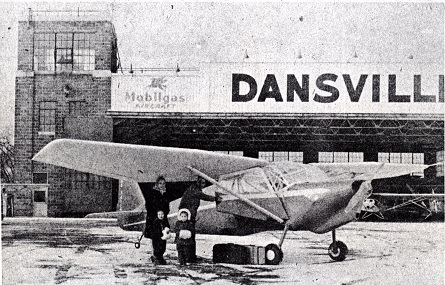 Dansaire Coupe at Airport 1947
