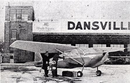Dansaire Coupe at Airport 1947