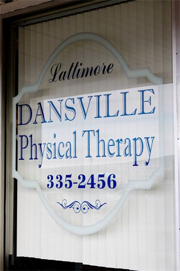 Lattimore Dansville window sign