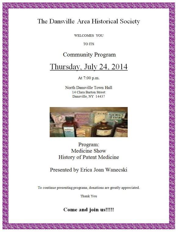 2014 JULY PROGRAM