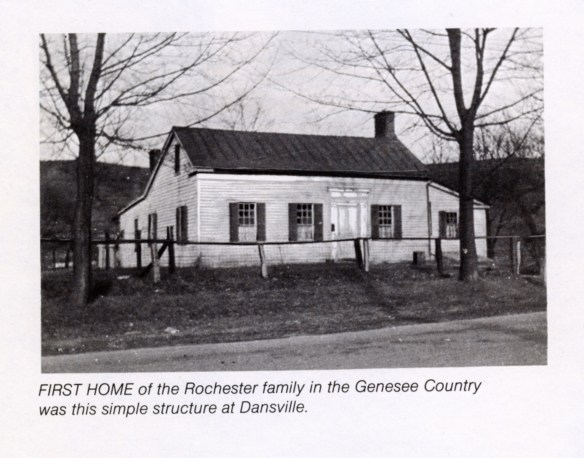 Nathaniel Rochester's Home in Dansville