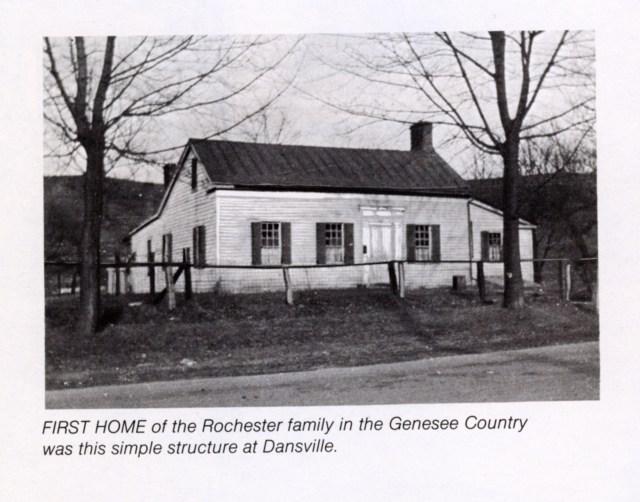 Nathaniel Rochester's Home in Dansville